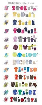 ideas of what to wear for family pictures photos colorcombos