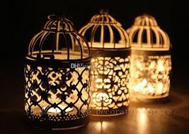 Wedding Candle Holders Centerpieces by Metal Bird Cage Wedding Candle Holder Lantern Morocco Vintage