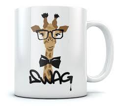 Cool Cup Swag Hipster Giraffe Coffee Mug Tea Cup Cool Gift Idea