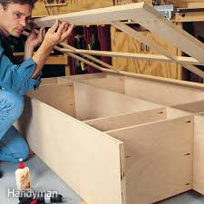 Diy Plywood Cabinets Building Cabinets With Pocket Screws Family Handyman