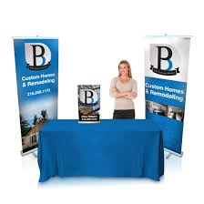 table top banners for trade shows budget trade show package trt banners
