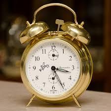 brass alarm clock house of clocks