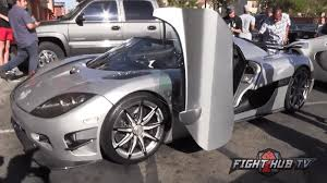 mayweather money cars watch floyd mayweather rolls up to media day in 4 8 million car