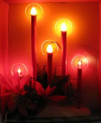 Electric Candle Lights For Windows Designs 8 Light C 7 Electric Window Candles 08 20