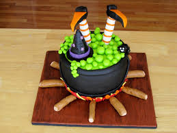 Chocolate Halloween Cake by Witches Cauldron Cakecentral Com