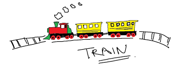 easy kids drawing lessons how to draw a cartoon train youtube