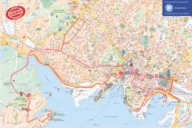 San Francisco Sightseeing Map by City Sightseeing Oslo Hop On Hop Off Tour Tour Oslo