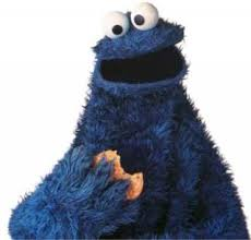 cookie monster character giant bomb