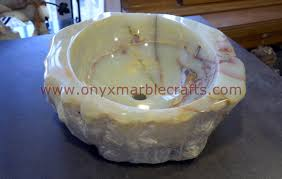 onyx sinks u0026 basins onyx marble crafts
