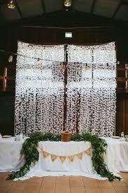 wedding backdrop australia best 25 paper curtain ideas on