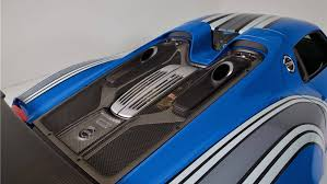 voodoo blue porsche porsche 918 voodoo blue auction motor1 com photos