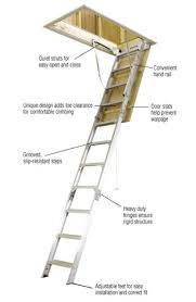 werner 8 ft 10 ft 25 in x 54 in aluminum attic ladder with