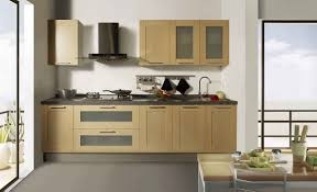apartment kitchen with small kitchen cabinets with raised panels