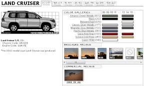toyota land cruiser brochure toyota land cruiser touchup paint codes image galleries brochure
