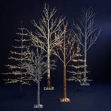 buy lewis 6ft pre lit snowy twig tree white