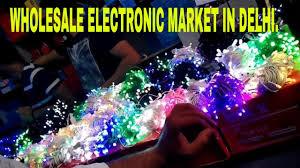 cheapest diwali decorating fancy lights market delhi bhagirath