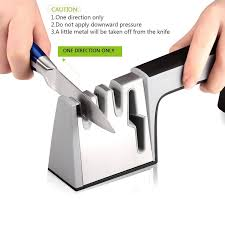 How Do You Sharpen Kitchen Knives by Amazon Com Koolife 4 In 1 Knife Sharpener For All Knives And
