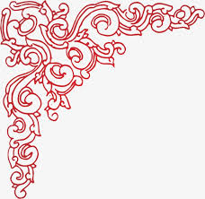 corner pattern png angle lace pattern corner corner flower corner pattern png image
