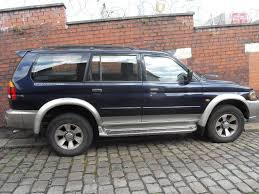 mitsubishi shogun sports 2 5 diesel manual box in accrington