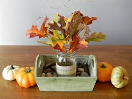Autumn Decorations Home Painted Mason Jars Fall Centerpieces Building Our Story How To