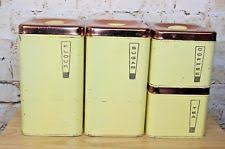 yellow kitchen canisters lincoln beautyware kitchenware ebay
