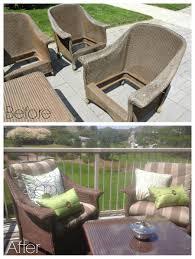 Patio Furniture Sale London Ontario Wicker Makeover Jan U0027s Patio Furniture 100 Things 2 Do