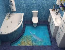 3d art on floor design