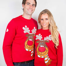 rudolph red christmas sweater
