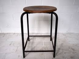 industrial bar table and stools industrial bar stool 1920s for sale at pamono