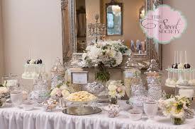 Candy Table For Wedding Elegant Wedding Dessert Table Dessert Tablescapes Cake Tables