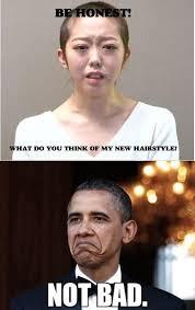 Not Bad Meme Obama - homemade combination of minegishi and obama s not bad meme memes