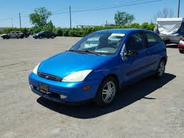 2000 ford focus zx3 3fafp3133yr131781 2000 blue ford focus zx3 on sale in qc