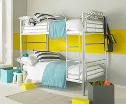 Split Bunk Beds Seattle Alloy Silver And Bunk Bed Also Available In