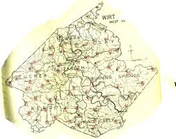 Map Of Wv Wirt County Wv Clio