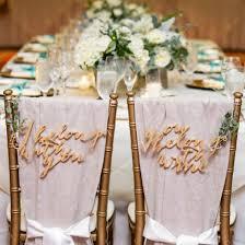 wedding chair signs wedding chair signs weddinggawker