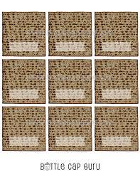 seder matzah printable passover place cards matzah tent cards blank name