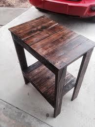 diy entryway table plans diy pallet end table plans wooden pallet end tables pallets