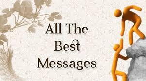all the best messages luck wishes sle