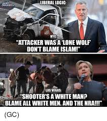 Lone Wolf Meme - ouder crowdercom liberal logic nyc attacker was a lone wolf don t