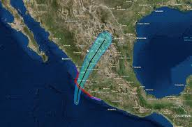 Mexico Hurricane Map by The Strongest Hurricane Ever Recorded Is About To Hit Mexico