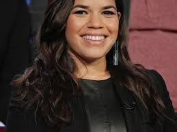 America Ferrera Blonde Lob Hair Transformation