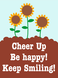 be happy be smile cheer up card birthday greeting cards by davia