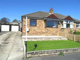 whitegates brighouse 2 bedroom semi detached bungalow for sale in