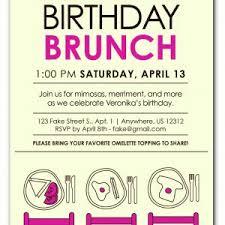 birthday brunch invitations invitations for birthday luncheon fresh birthday brunch