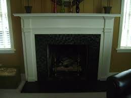 fireplace tile and the fireplace box with terra cotta refractory