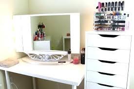 professional makeup desk used broadway lighted vanity makeup desk vanities mirror set with