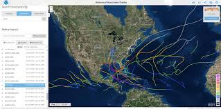 United States Storm Map by Hurricanes 2 Jpg