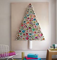 diy wall christmas tree ideas for small spaces miss alice designs