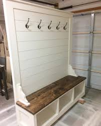 Building A Mudroom Bench Awesome Builds Shiplap Hall Tree Bench Build Portfolio Tao