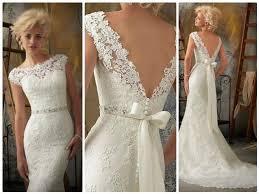 vintage style wedding dresses vintage style lace wedding dress obniiis